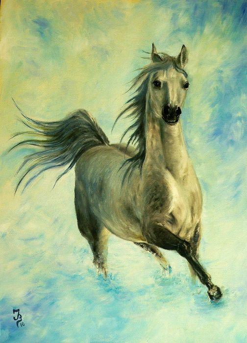 Лошадь №8