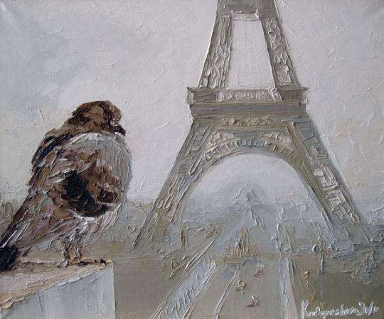 Влюбленный в Париж