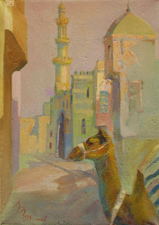 Улочка Египта.Воточный мотив.