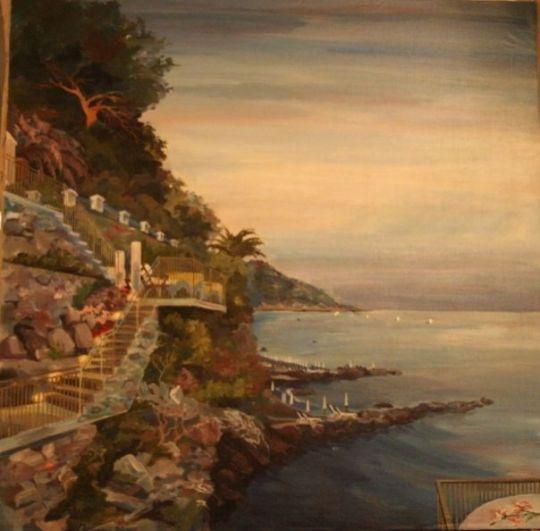 Вечер на Лазурном берегу