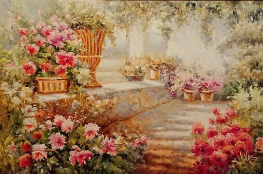 Чудесный сад.худ.Р.Смородинов