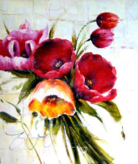 Тюльпаны.худ.Антонио Джанильятти