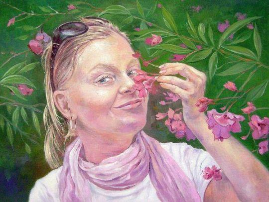 Портрет Елены.