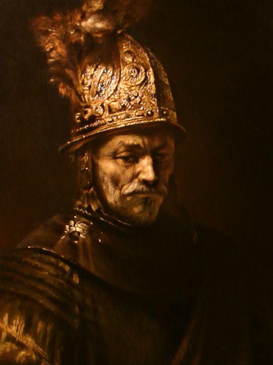 ''Человек в золотом шлеме''