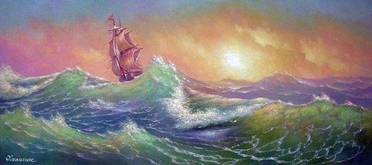 Море для сильных.