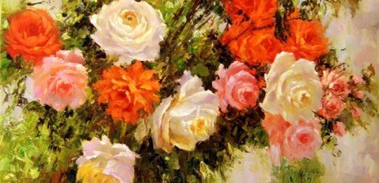 Розы.худ.А.Джанильятти