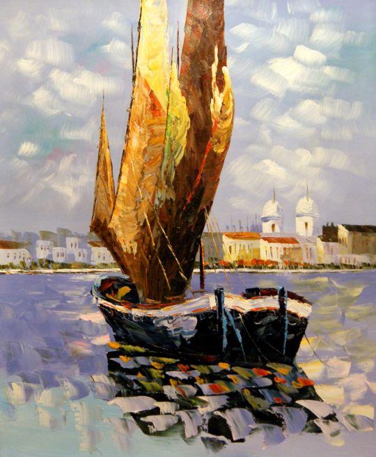 Лодки.худ.Л.Гарсия