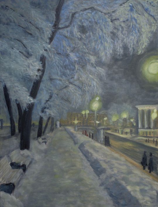 Зимний вечер в Питере