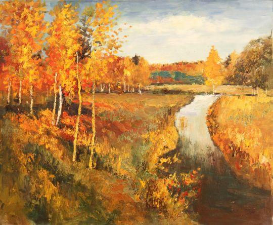 Картина Левитана Золотая Осень Сочинение 3 Класс