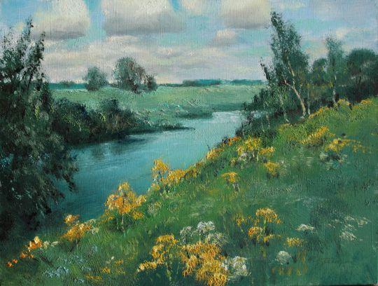 Над речкой Истра