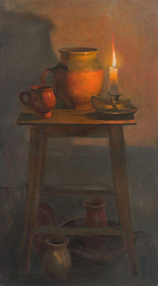 Натюрморт со свечой