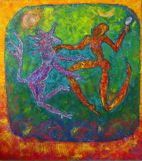 Единорог и девственница