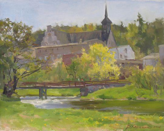 Мост у костёла