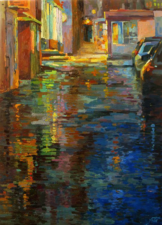 Москва. После дождя