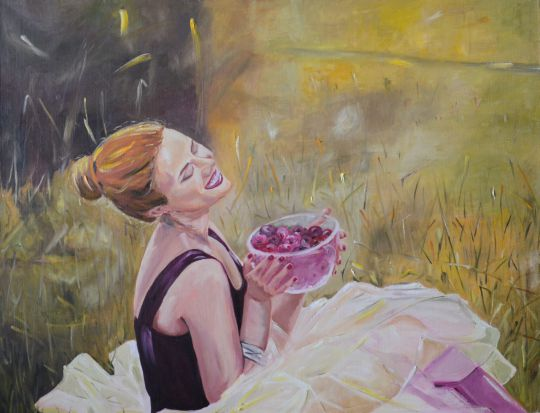 Маша и вишня