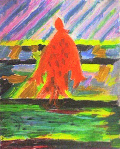 Оранжевый ангел