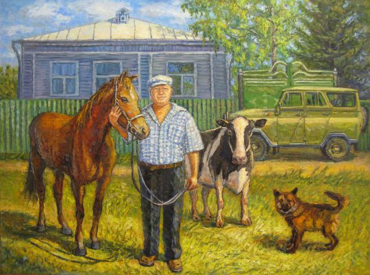 """Картина """"Фермер"""""""