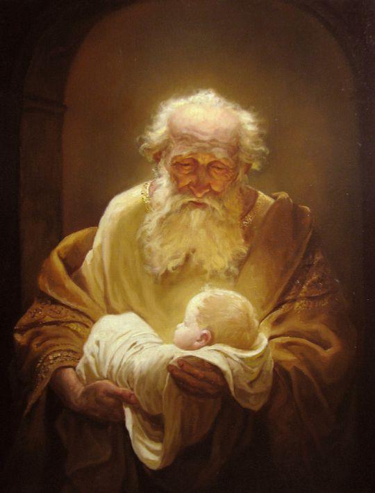 Cимеон и Иисус