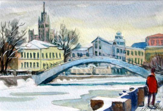 Горбатый мост на Обводном канале