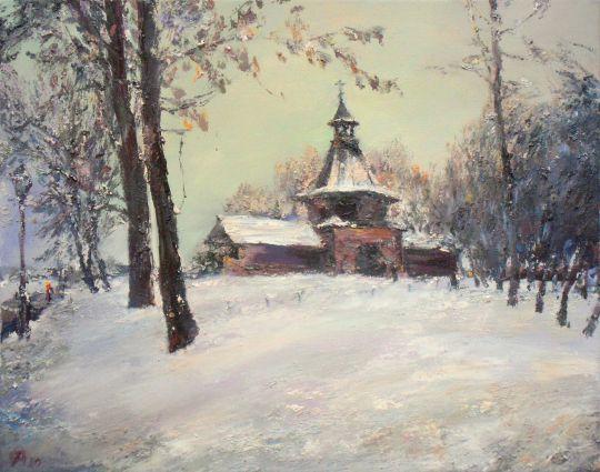 Зимний день в Коломенском