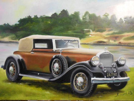 Ретро автомобиль 6