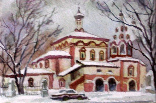 Храм Трёх Святителей на Кулишках