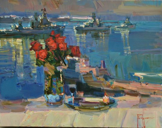 Праздничный букет (День ВМФ в Севастополе)