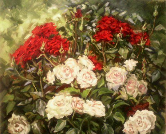 Увядающие розы