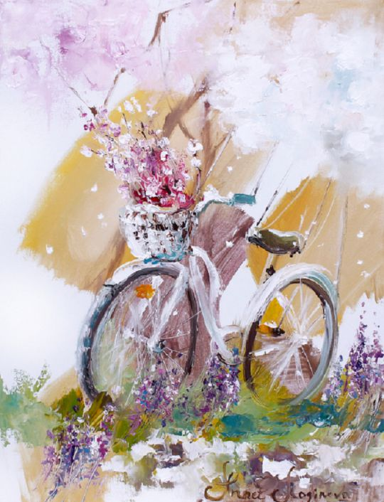 Spring bicycle for you