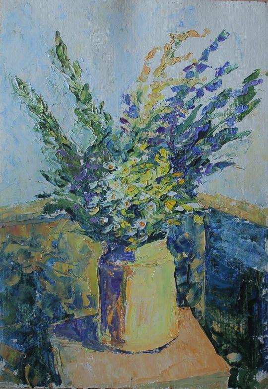 Полевые цветы (Wild flowers)