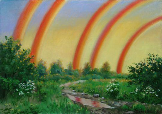 пять радуг.сон