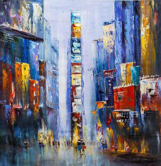 City. Shades Of Purple (Город. Оттенки фиолетового)