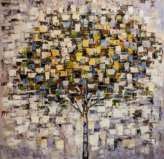 Дерево. Основной желтый