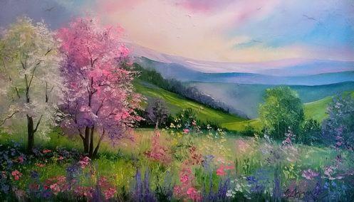 Весна в Карпатах