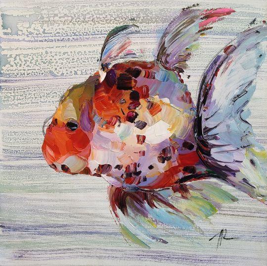 """""""Золотая рыбка для исполнения желаний. N6"""""""