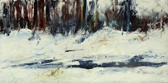 Замерзшая речка