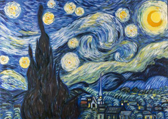 Копия Ван Гог Звездная ночь