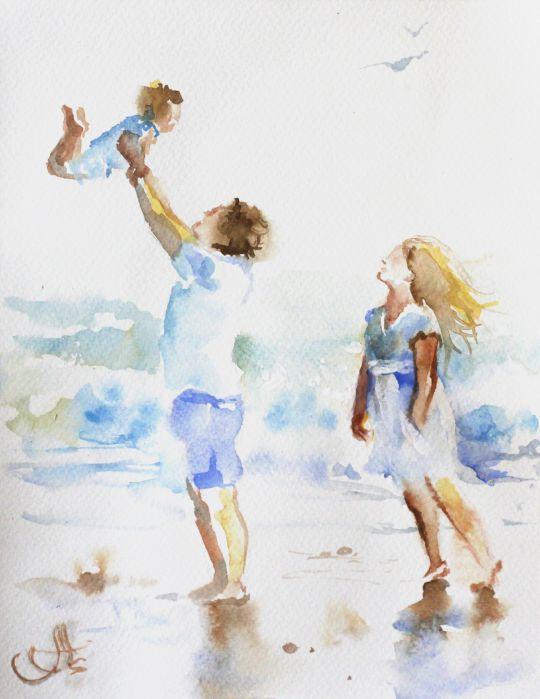 Семья и море