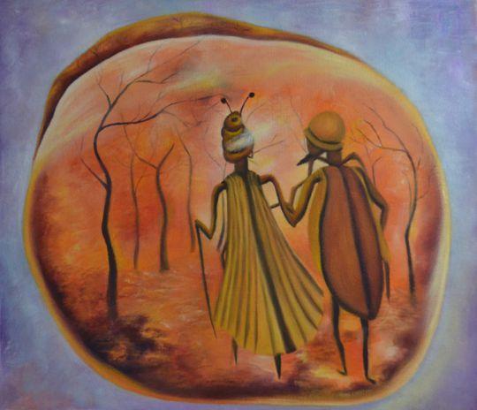 Вечный разговор в янтаре