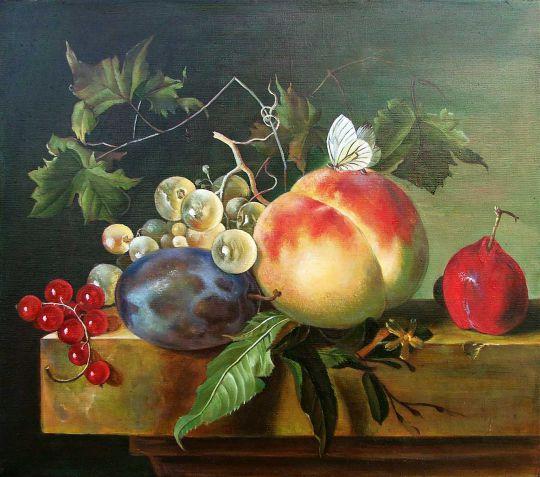 Yan van Huysum - Натюрморт с фруктами