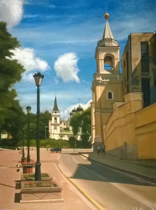 Москва, улица Забелина.