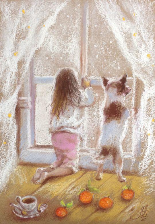 Снежное волшебство и декабрь