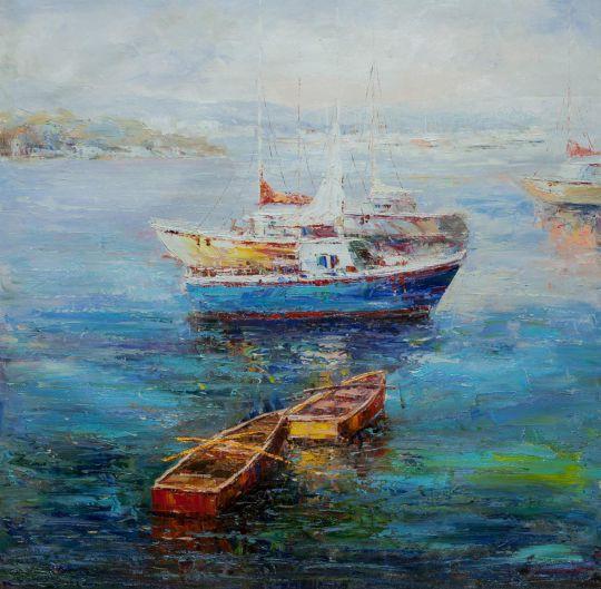 Лодки. Утренний штиль