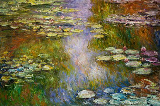 Водяные лилии N13, копия С.Камского картины Клода Моне