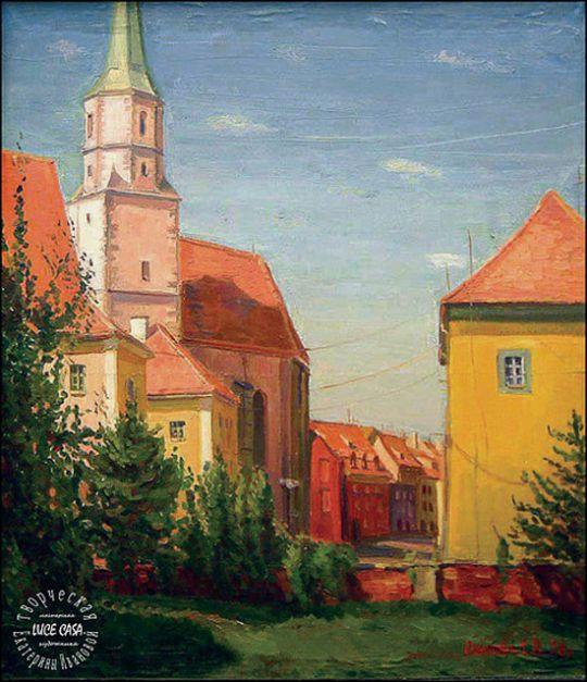 Чехия, городской пейзаж