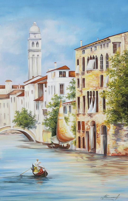 Венеция - картина маслом