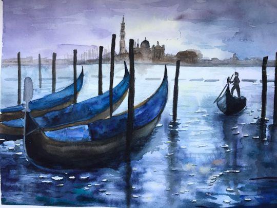Вечер в Венеции