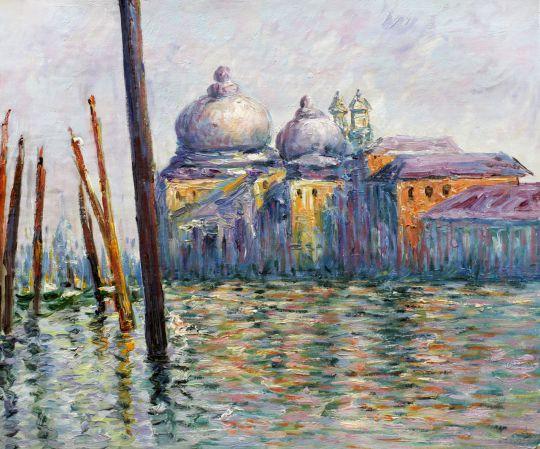 Большой канал, 1908г, копия С.Камского картины Клода Моне