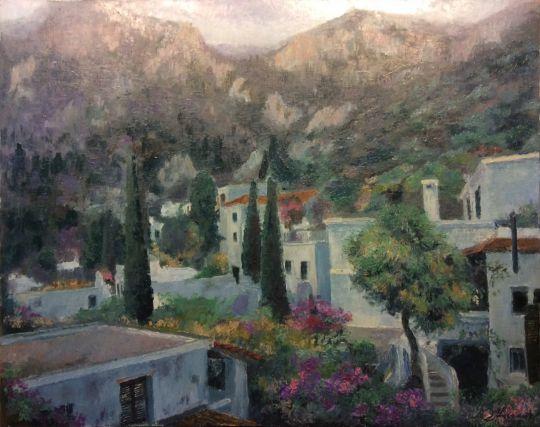 Кипр-север, У подножя горы