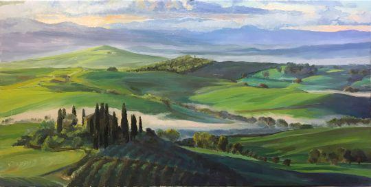 Тоскана, между небом и землёй